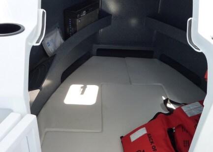 Lockable cabin