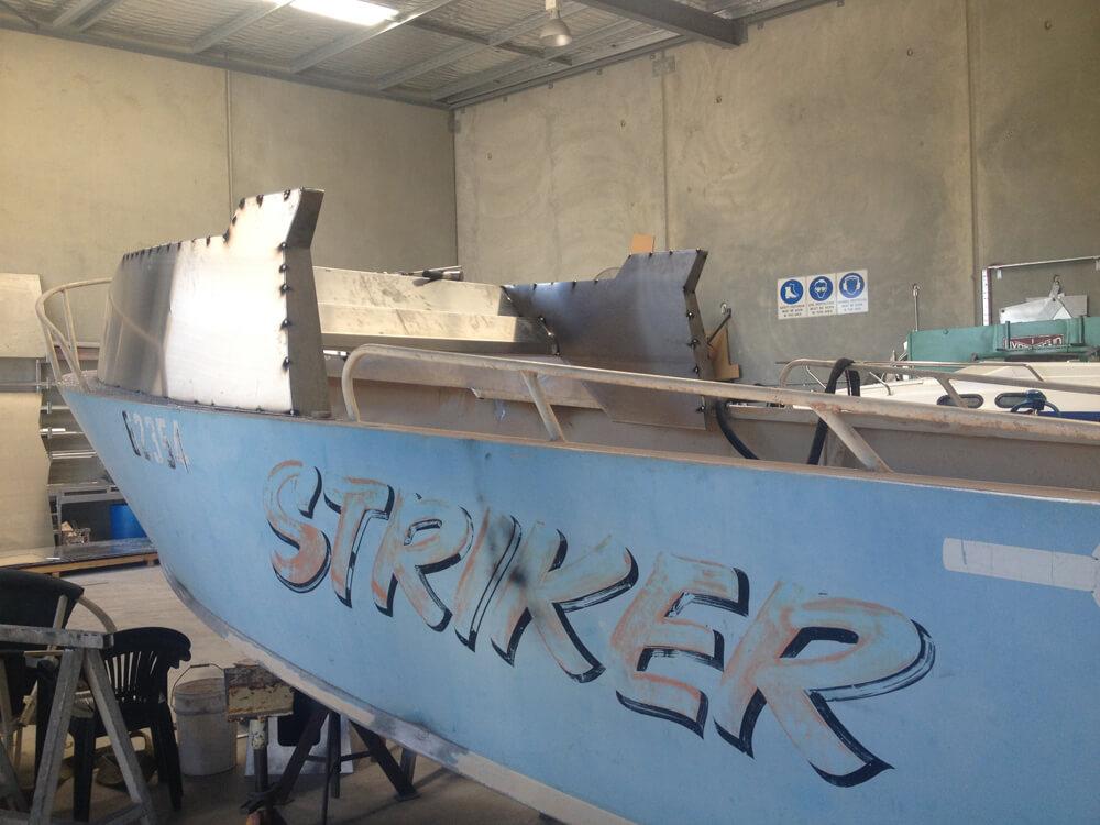 Boat modification