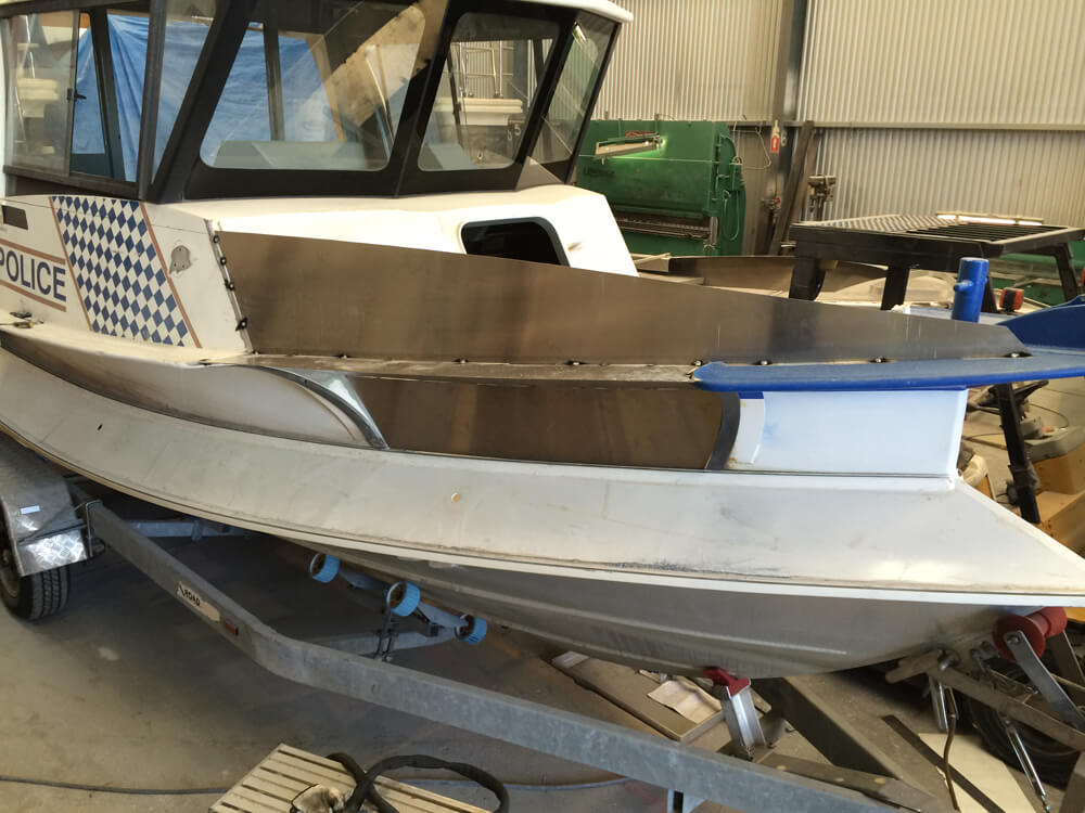 Boat modification
