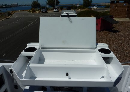 Removable bait board
